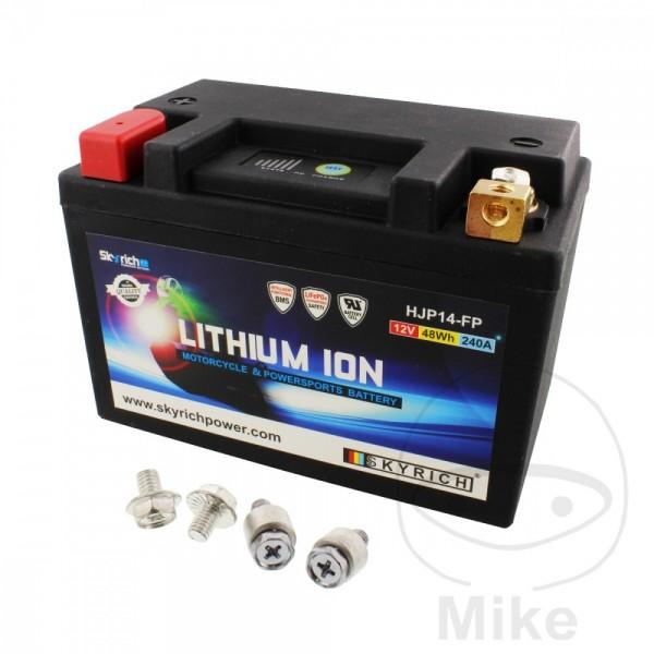 Skyrich Lithium Ionen Batterie HJP14-FP mit Anzeige und Überladeschutz
