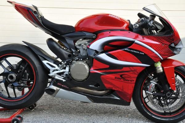 Carbonin CARBON Motorrad Verkleidungsunterteil / Bug Ducati 1199 Panigale / S Bj. 12-
