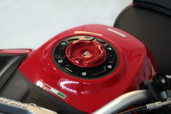 Evotech Tankdeckel für original Schlüssel KTM 1290 Superduke / Ducati Multistrada 1200 / 1260