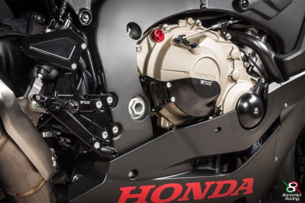 Bonamici Racing Motorschutzdeckel Honda CBR 1000 RR rechts Kupplung 17/'17