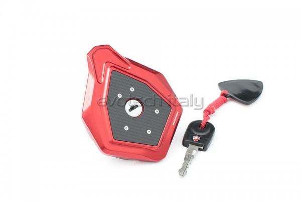 Evotech Tankdeckel für original Schlüssel Ducati Hypermotard Hyperstrada 821/939