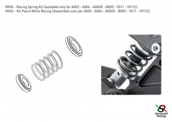 Bonamici Racing Fußrastenanlage Zubehör Upgrade Kit racing Federkit Bremspumpe hinten