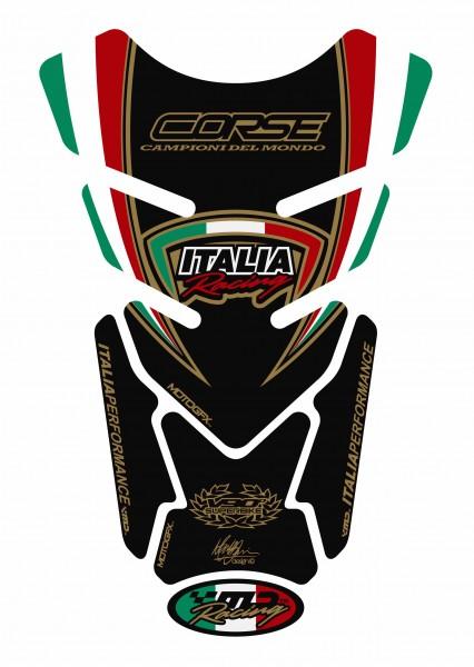 Motografix Tankpad schwarz Ducati universal QUADRA - UNIVERSAL