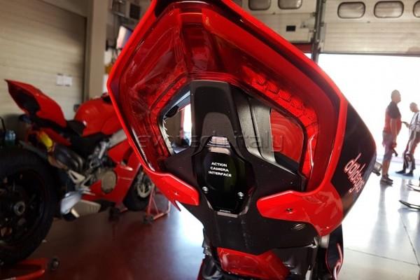 Evotech Kennzeichenhalter Cover KIT Ducati Panigale V4 Bj. 18-
