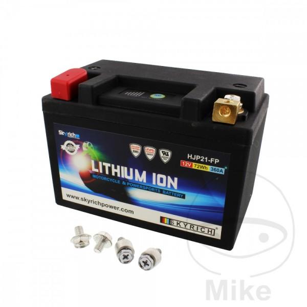 Skyrich Lithium Ionen Batterie HJP21-FP mit Anzeige und Überladeschutz