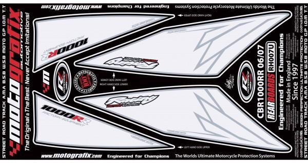 Motografix Aufkleberset Heck Honda CBR 1000 RR Bj. 06-07