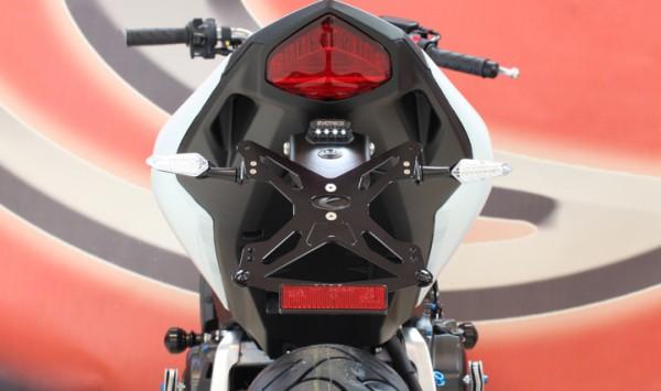 Evotech Kennzeichenhalter Honda CB 1000 R Bj. 08- / Honda CBR 600 F Bj. 11- / Hornet 600 Bj. 11-
