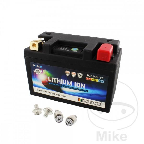 Skyrich Lithium Ionen Batterie HJP14BL-FP mit Anzeige und Überladeschutz