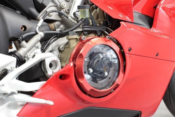 Evotech Kupplungsdeckel Set mit Druckplatte Ducati Panigale V4 Bj. 18-