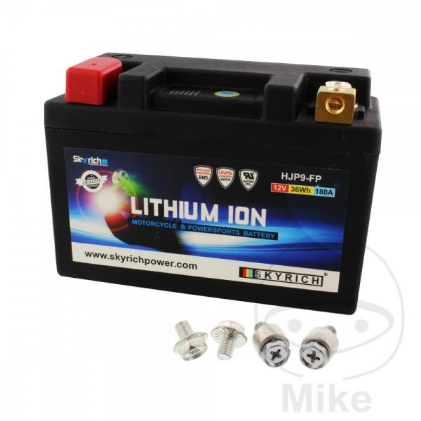 Skyrich Lithium Ionen Batterie HJP9-FP mit Anzeige und Überladeschutz