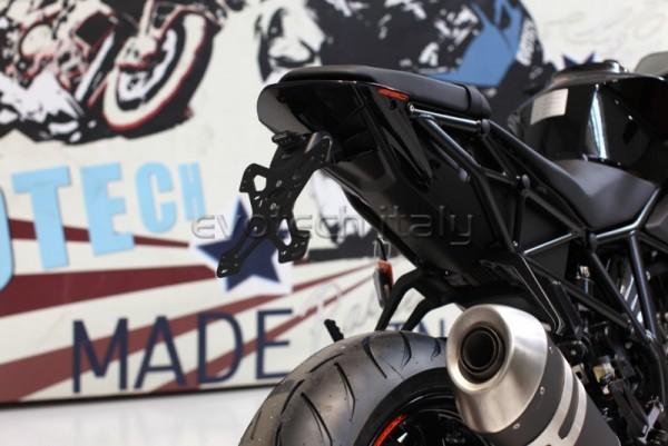 Evotech Kennzeichenhalter KTM 1290 Superduke R Bj. 14-