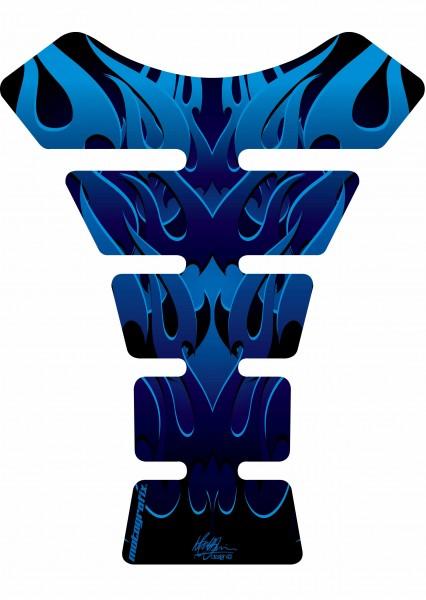 Motografix Tankpad blau Street Style universal SPINE - UNIVERSAL