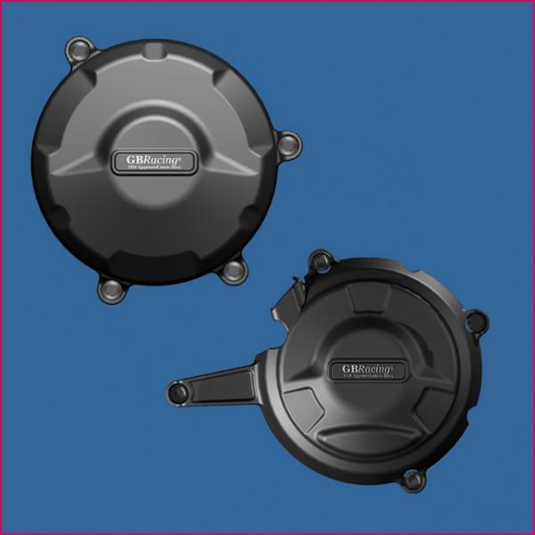 GB Racing Kunststoff Motordeckelschoner / Motordeckelschützer Set Ducati 1199 Panigale / S Bj. 12-