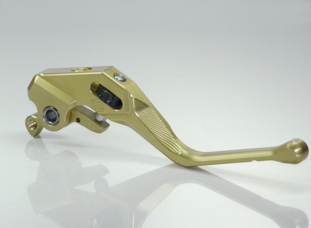 gilles tooling factor x motorrad Bremshebel mit ABE aprilia / Ducati / Triumph / KTM  gold