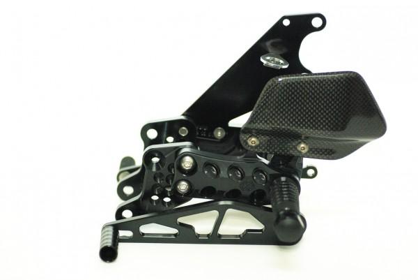 gilles tooling Fußrastenanlage AS31GT YAMAHA FZ 1 / Fazer ohne ABS Bj. 06-