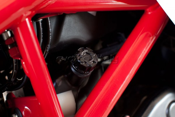 Evotech Deckel Kühlwasser Ausgleichsbehälter Ducati