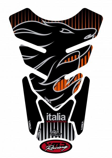 Motografix Tankpad schwarz aprilia universal QUADRA - UNIVERSAL