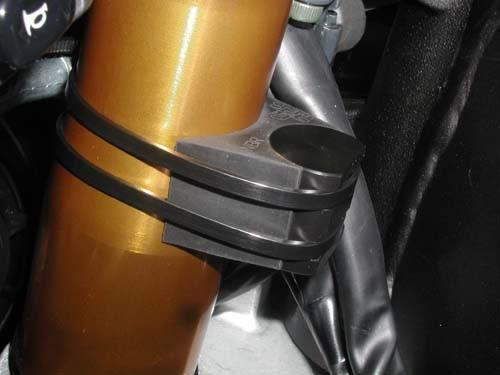 B&G Racing Lenkanschlagsschützer 400-001 schwarz incl. Kabelbinder