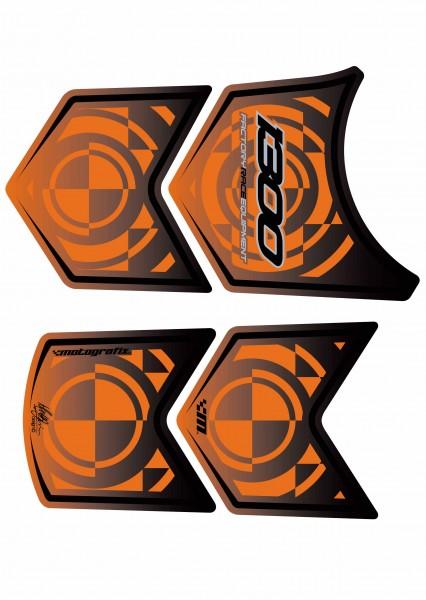 Motografix Tankpad orange BMW K1300R / RS Bj. 09-