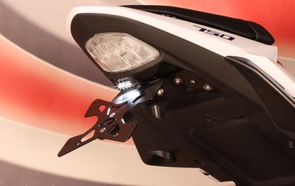 Evotech Kennzeichenhalter Suzuki GSR 750 Bj. 11-16