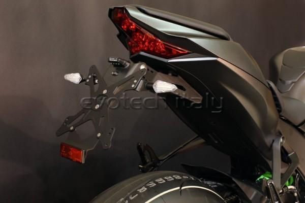 Evotech Kennzeichenhalter Kawasaki ZX10R Bj. 2016-