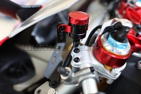 Evotech Kupplungsflüssigkeitsbehälter Halter RT-01 Ducati Panigale 1199 / 899 Bj. 12- Bj. 12-
