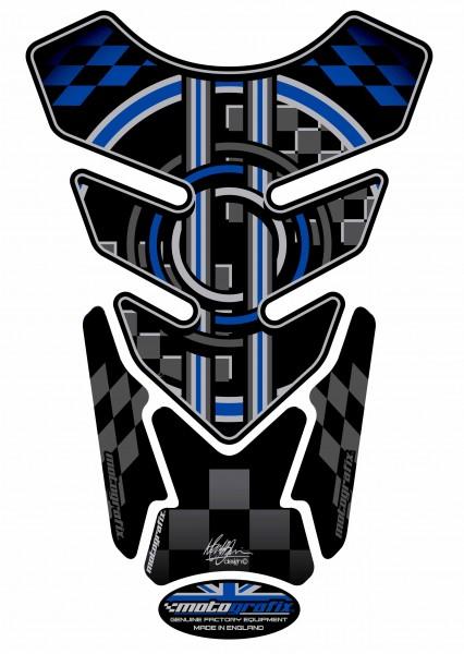 Motografix Tankpad blau BMW universal QUADRA