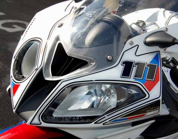 Motografix Aufkleberset Front Motorsportfarben 111 BMW S1000RR Bj. 09-