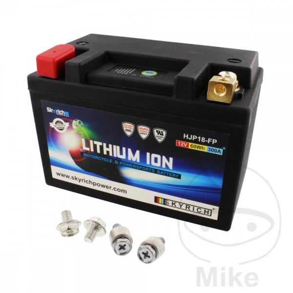 Skyrich Lithium Ionen Batterie HJP18-FP mit Anzeige und Überladeschutz