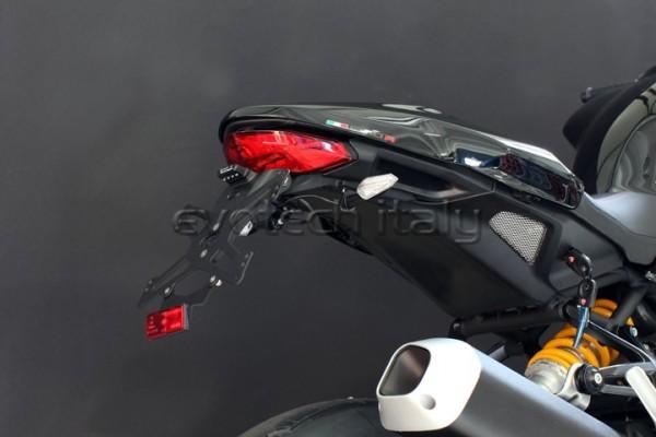 Evotech Kennzeichenhalter Ducati Monster 1200R Bj. 2015-