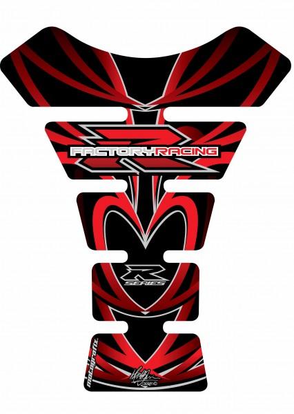 Motografix Tankpad rot-schwarz Suzuki universal SPINE - UNIVERSAL